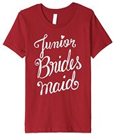Wedding T-Shirt: Junior Bridesmaid