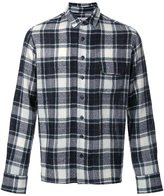 Simon Miller wool plaid shirt - men - Wool - 2