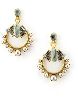 Elizabeth Cole Chloe Earrings