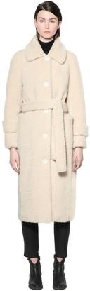 Stand Lottie Teddy Faux Fur Coat