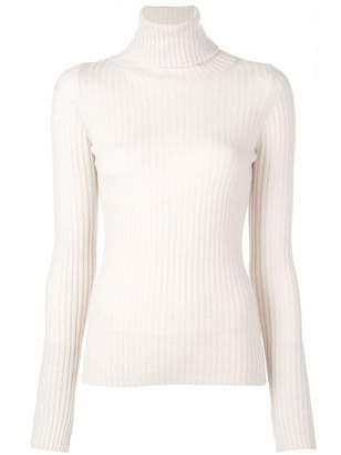 Nili Lotan Myla Turtleneck Ribbed Sweater