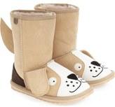 Emu 'Little Creatures - Puppy' Boot (Toddler, Little Kid & Big Kid)