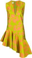 Marques Almeida Marques'almeida asymmetric floral-print dress