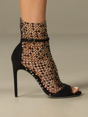 Rene Caovilla Heeled Booties Shoes Women