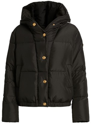 Versace Down Medusa Button Puffer Jacket