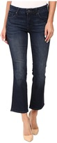 KUT from the Kloth Reese Crop Flare Jeans in Security w/ Euro Base Wash