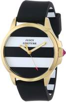 Juicy Couture Women's 1901098 Jetsetter and White Stripe Dial Watch