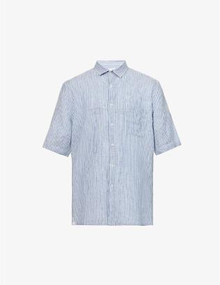 Sunspel Relaxed-fit linen shirt