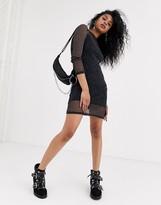 Noisy May long sleeve mesh dress