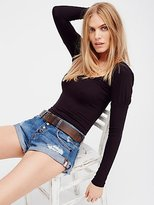 Free People Bandit Denim Cutoffs