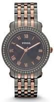 Fossil Women's Quartz Watch Emma ES3115 with Metal Strap