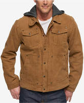 Levi's Men's Hooded Sherpa-Lined Denim Jacket