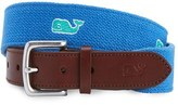 Vineyard Vines Men's Whale Embroidered Belt