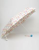 Cath Kidston Minilite Umbrella In Paradise Field Print