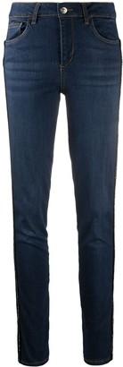 Liu Jo Mid-Rise Slim-Fit Jeans