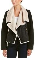 Betsey Johnson Betsy Johnson Wool-blend Coat.