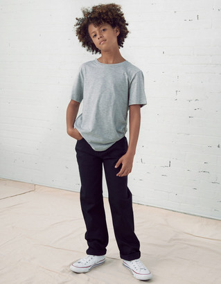 RSQ Boys Slim Stretch Black Jeans