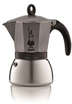 Bialetti Moka Express Induction, Silver, 6 Cup