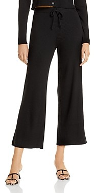 Lucy Paris Carter Ribbed Wide Leg Pants