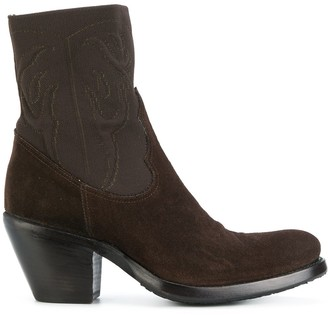 Rocco P. Western Heeled Boots