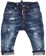 DSQUARED2 Destroyed Stretch Denim Jeans