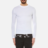 Mcq Alexander Mcqueen Recycled Paisley Long Sleeved Tshirt - Optic White