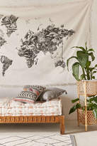 Urban Outfitters Armando Veve Map Tapestry