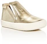 Old Soles Girls' Urban Crew Metallic Slip On Sneakers - Walker