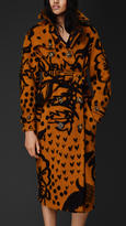 Burberry Thistle Blanket Trench Coat
