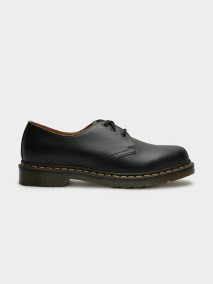 Dr. Martens Unisex 1461 Oxford Shoes in Smooth Black Noir Leather