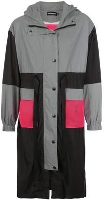 God's Masterful Children Colour-Block Parka Coat