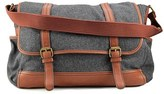 Aldo Quida Men Synthetic Gray Messenger.
