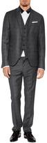 Neil Barrett Wool Slim Fit Suit Pants