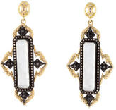 Armenta Rainbow Moonstone and Diamond Drop Earrings