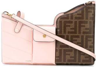 Fendi 3 pocket mini bag pink