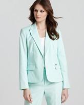 Calvin Klein One Button Color Jacket