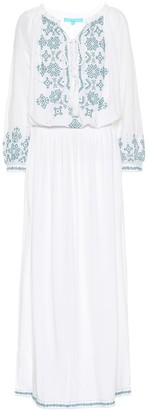 Melissa Odabash Sienna embroidered maxi dress