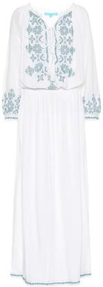 Melissa Odabash Sienna embroidered maxi dress