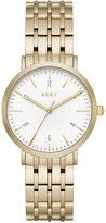 DKNY Women's Dress Case Gold-Tone Stainless Steel Bracelet Watch 36mm NY2503