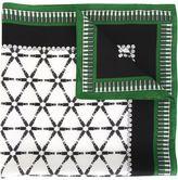 Kris Van Assche hardware print neck scarf