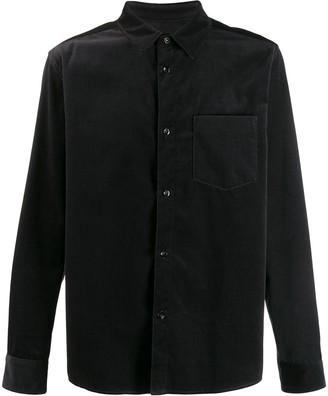 A.P.C. Shiny-Finish Plain Shirt
