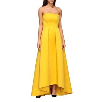 Pinko Long Digimond Dress With Bustier Deacute;colleteacute;