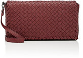 Bottega Veneta Women's Intrecciato Clutch-BURGUNDY