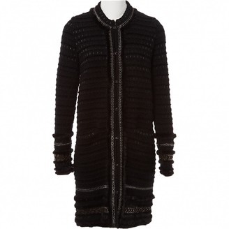 Roberto Cavalli Black Mink Coat for Women