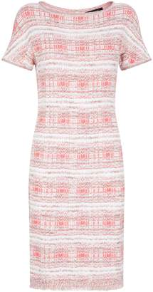 St. John Tweed Midi Dress