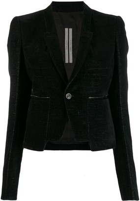 Rick Owens Single-Breasted Blazer