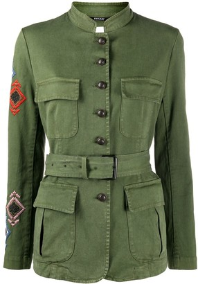 Bazar Deluxe Embroidered Military Jacket