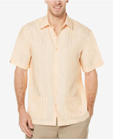 Cubavera Men's 100% Linen Embroidered Panel Shirt