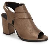 Calvin Klein &Ellca& Open Toe Bootie (Women)