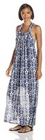 Greylin Women's Dagmar Printed Maxi Dress
